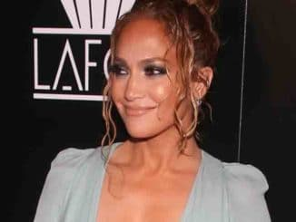 Jennifer Lopez - 45th Annual Los Angeles Film Critics Association Awards