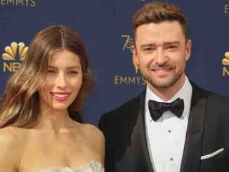 Jessica Biel and Justin Timberlake - 70th Annual Primetime Emmy Awards