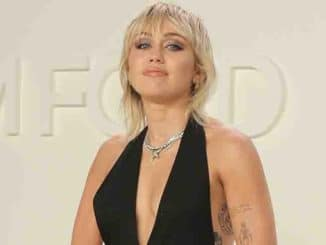 Miley Cyrus - Tom Ford Autumn/Winter 2020 Show