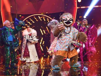 "Faultier Tom Beck gewinnt ""The Masked Singer"""