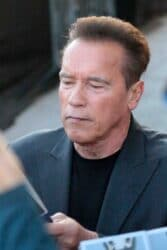 Arnold Schwarzenegger - Celebrity Sightings in Los Angeles