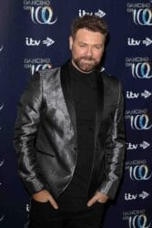 """Brian McFadden - """"Dancing on Ice"""" Launch Showcase at the Natural History Museum Ice Rink in Kensington"""