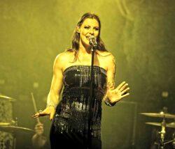 Floor Jansen - Iced Earth, Sabaton & Revamp in Concert at Revolution Live in Fort Lauderdale - April 25, 2014