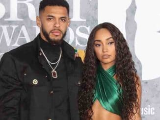 Andre Gray and Leigh-Anne Pinnock - BRIT Awards 2019
