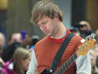 "Mickey Madden - Maroon 5 in Concert on NBC's ""Today Show"" at Rockefeller Center in New York City on June 14, 2013"