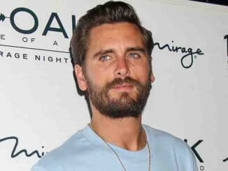 Scott Disick Hosts at 1 Oak Nightclub in Las Vegas on July 22, 2017