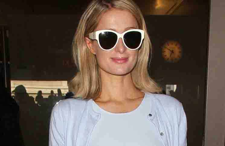Paris Hilton Sighted at LAX Airport in Los Angeles on May 20, 2018