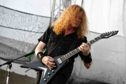Dave Mustaine - Fort Rock Festival 2016 at Jet Blue Park in Fort Myers - April 30, 2016