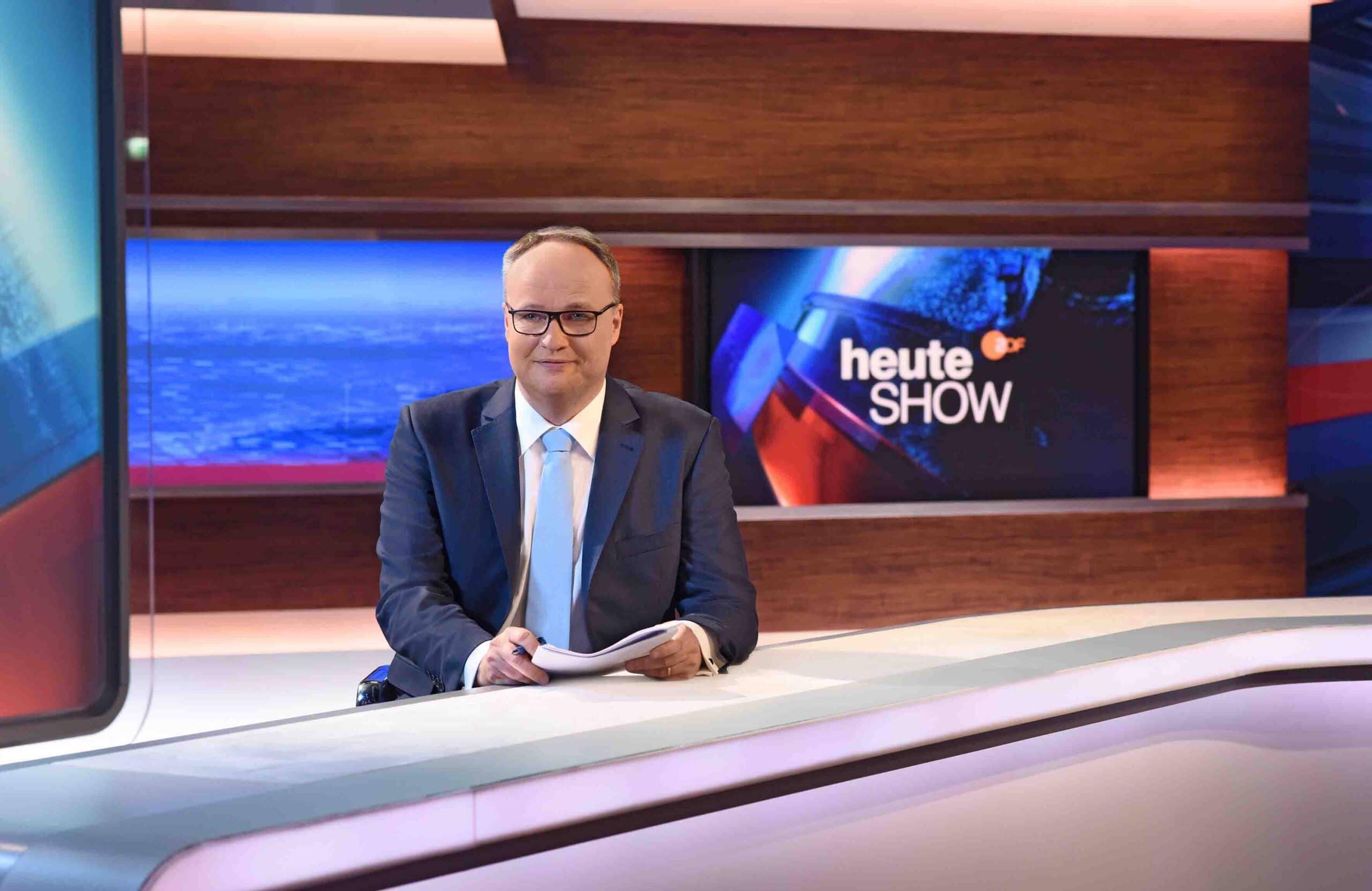 """Oliver Welke - Im ZDF: Norbert Röttgen zu Gast in der """"heute-show"""""""