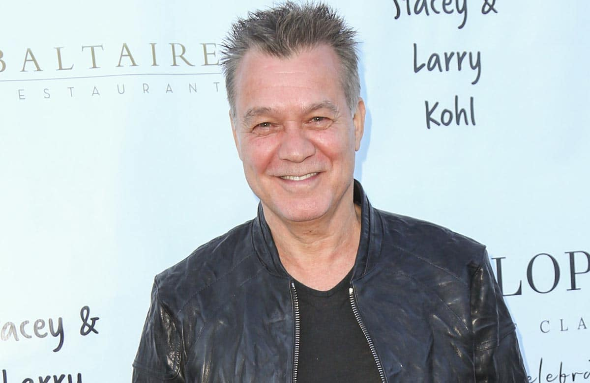 Eddie Van Halen - George Lopez Foundation 10th Anniversary Celebration Party