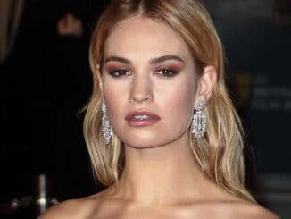 Lily James - 71st Annual EE British Academy Film Awards