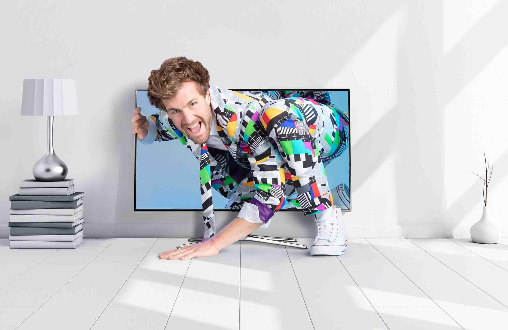 """Luke Mockridge in """"Das TV und ich"""" am Freitag in SAT.1"""