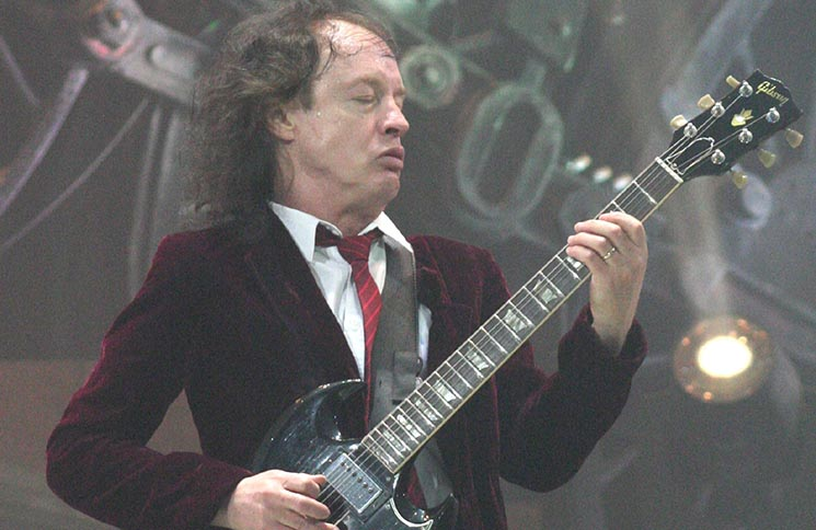 Angus Young - AC/DC Exclusive Photos in Concert at the HP Pavilion in San Jose - September 2, 2009
