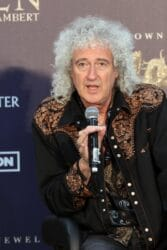 Brian May - Queen + Adam Lambert Make Grand Entrance to Kick-off Limited Engagement Vegas Shows