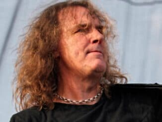 Dave Ellefson - Fort Rock Festival 2016 at Jet Blue Park in Fort Myers - April 30, 2016