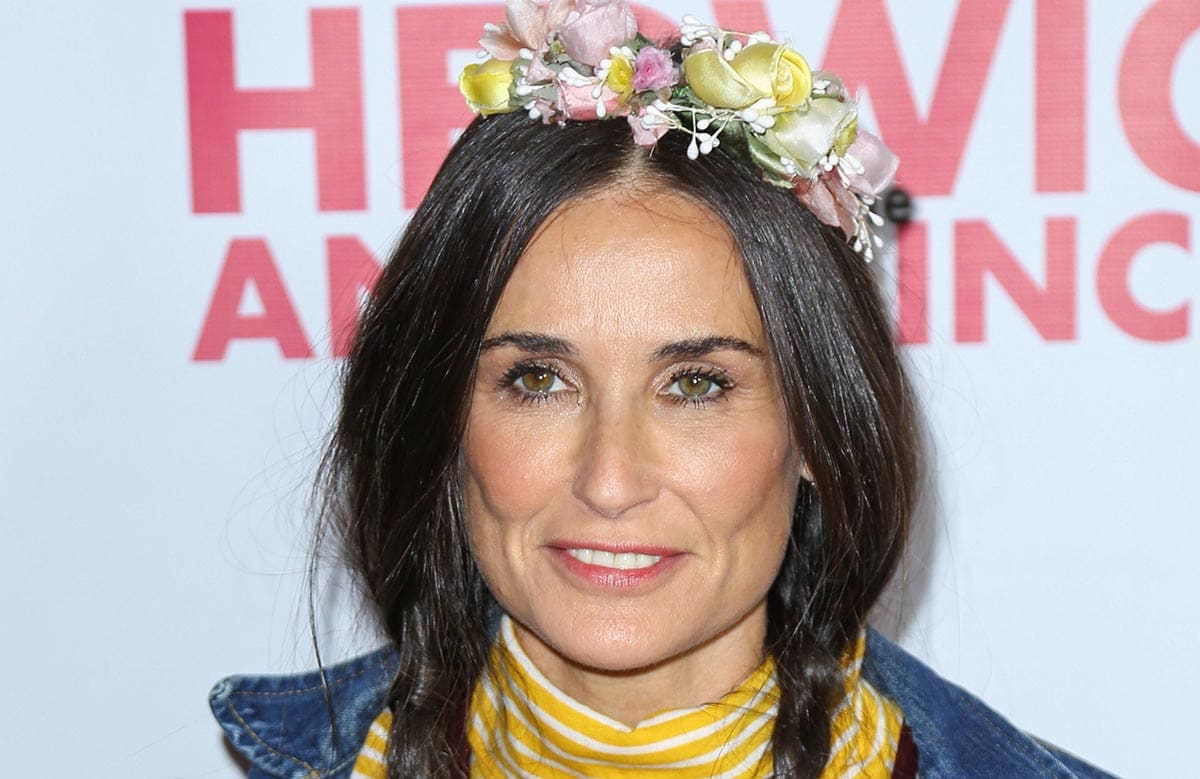 """Demi Moore - """"Hedwig and the Angry Inch"""" Opening Night at Pantages Theatre in Hollywood"""