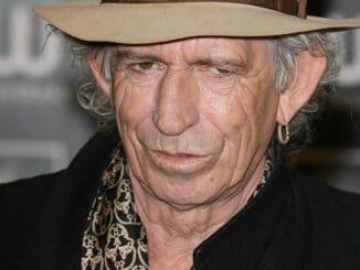 "Keith Richards ""Life"" Book Signing at Waterstones in London on November 4, 2010"
