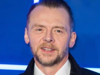 "Simon Pegg - ""Ready Player One"" European Premiere"