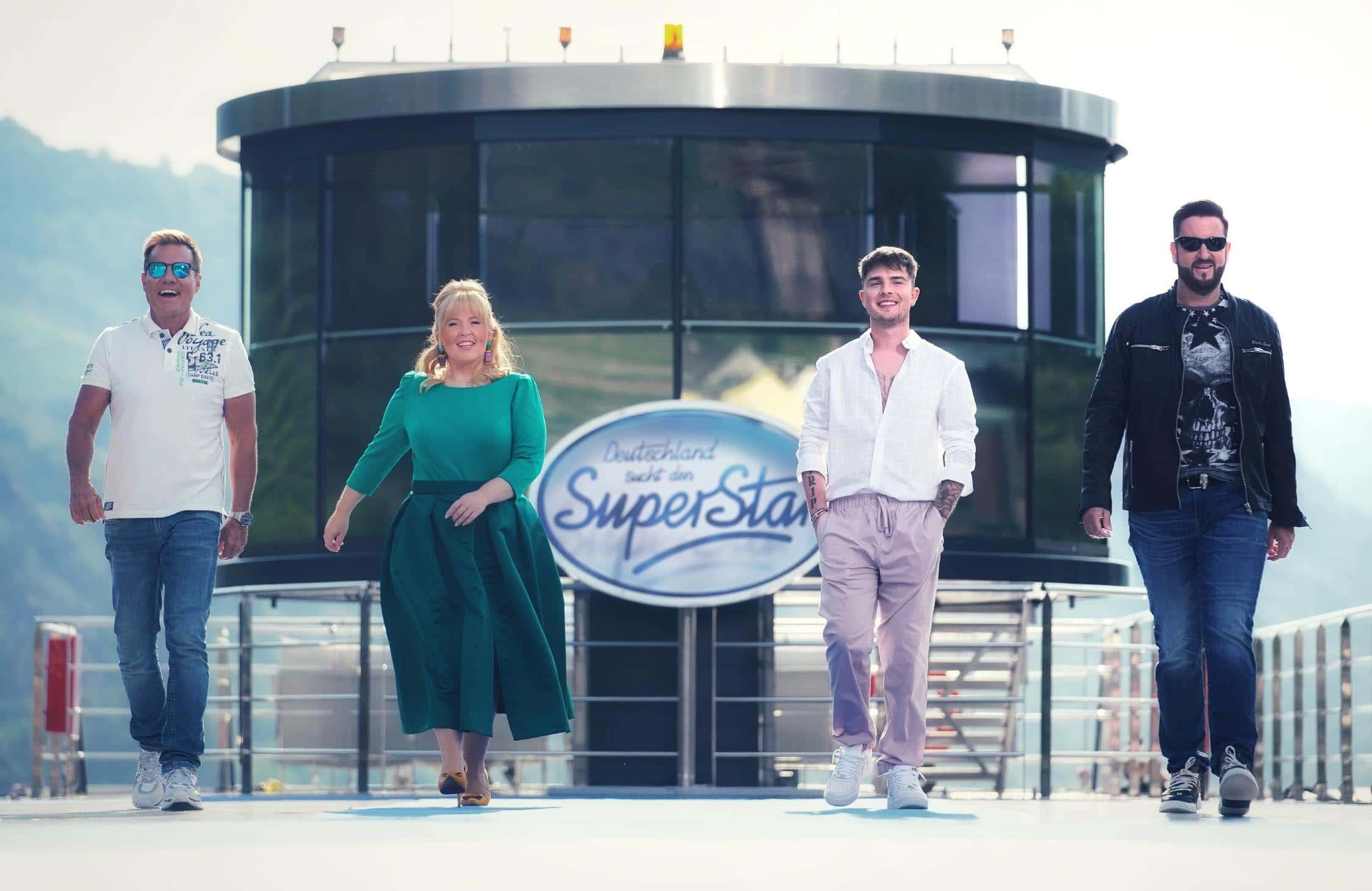 Dieter Bohlen, Maite Kelly, Mike Singer und Michael Wendler - Deutschland sucht den Superstar