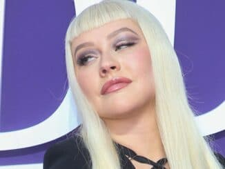 "Christina Aguilera - ""The Addams Family"" Los Angeles Premiere"