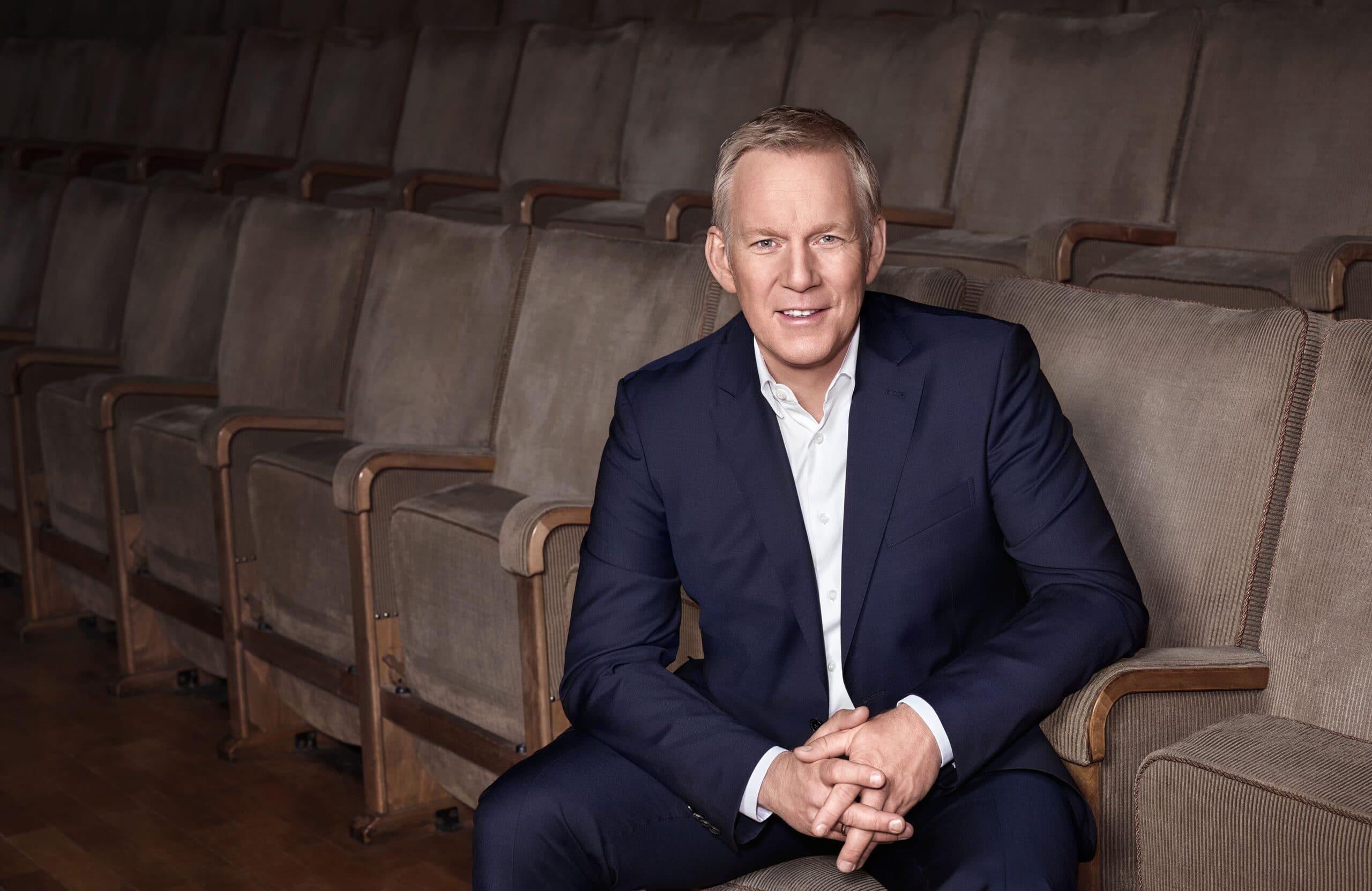 """Johannes B. Kerner - Gemeinsam für den guten Zweck im ZDF: """"Ein Herz für Kinder"""""""