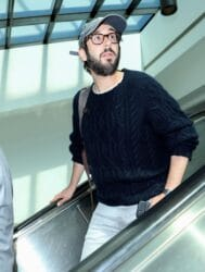 Josh Groban Sighted at LAX Airport in Los Angeles on June 12, 2018