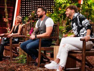 Christina Dimitriou, Oliver Sanne (M.) und Sam Dylan Ich bin ein Star - Die große Dschungelshow