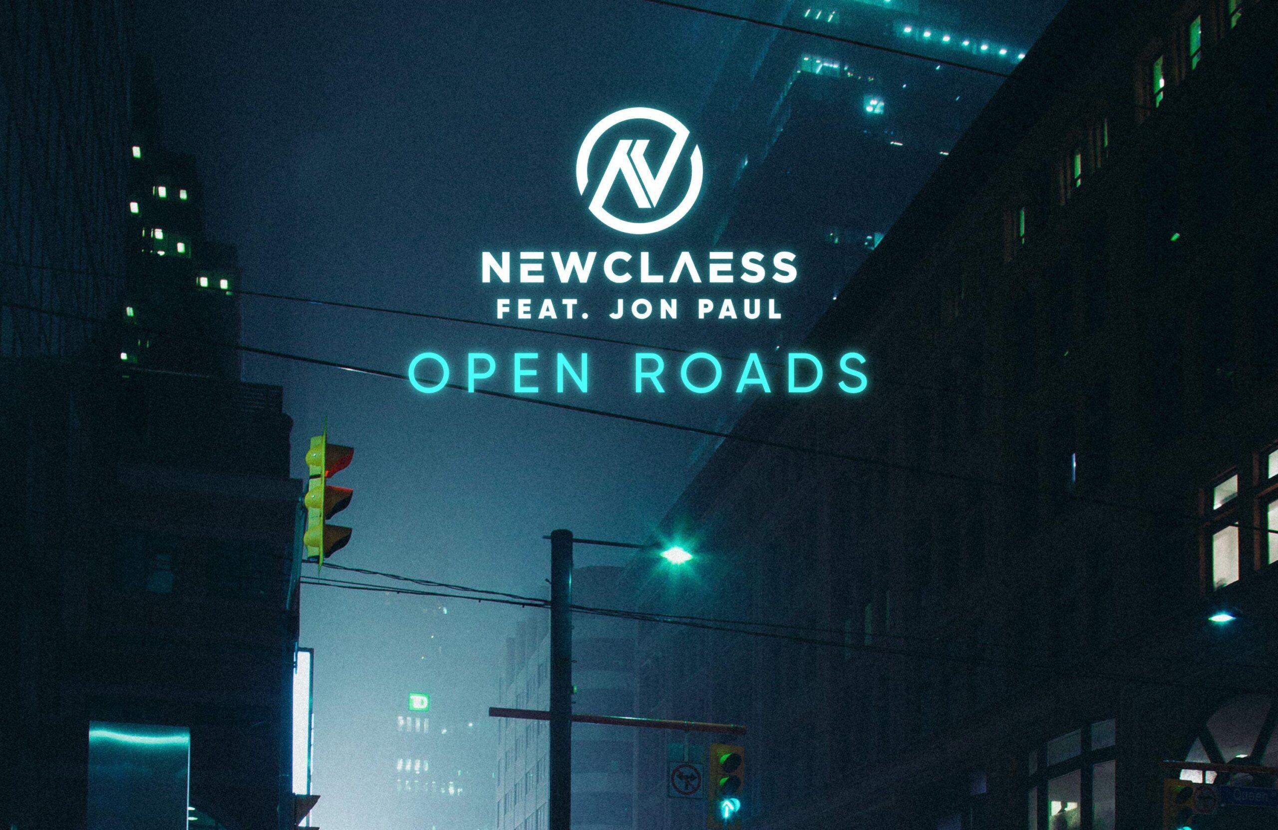 Cover_Newclaess feat. Jon Paul - Open Roads-min thumb