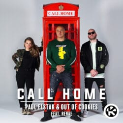 Cover_Paul Elstak & Out Of Cookies feat. Renae - Call Home