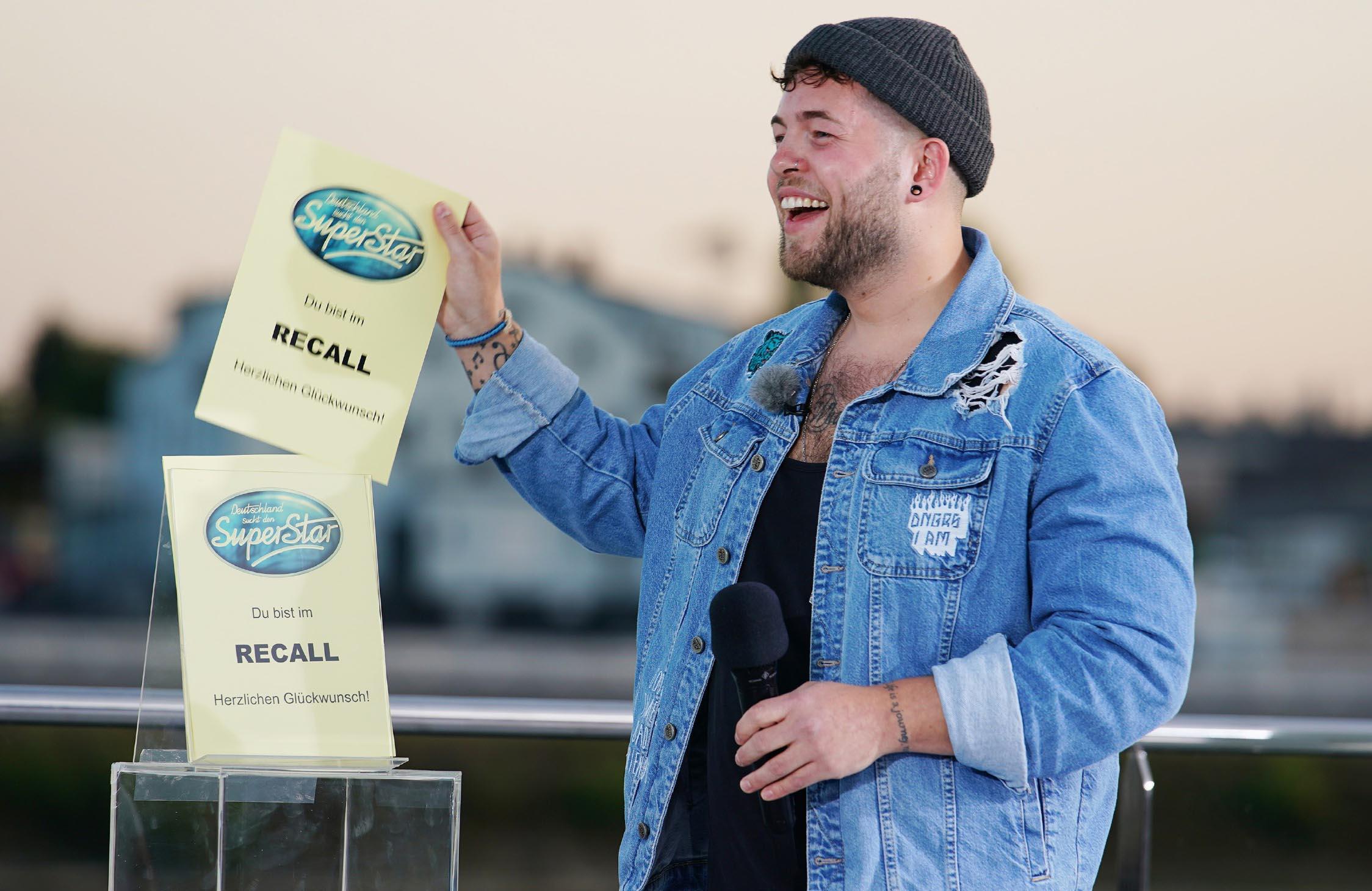 Marvin Frederic Ventura Estradas Deutschland sucht den Superstar