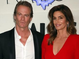 Cindy Crawford and Rande Gerber - Palms Casino Resort