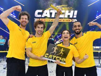 """Luke Mockridge und sein Team gewinnen """"CATCH!"""" in SAT.1"""