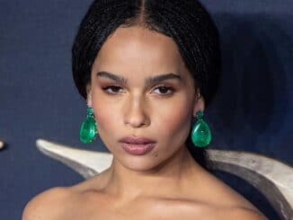 "Zoe Kravitz - ""Fantastic Beasts: The Crimes of Grindelwald"" UK Premiere"