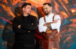 Tim Mälzer (l.) und Alexander Wulf - Kitchen Impossible