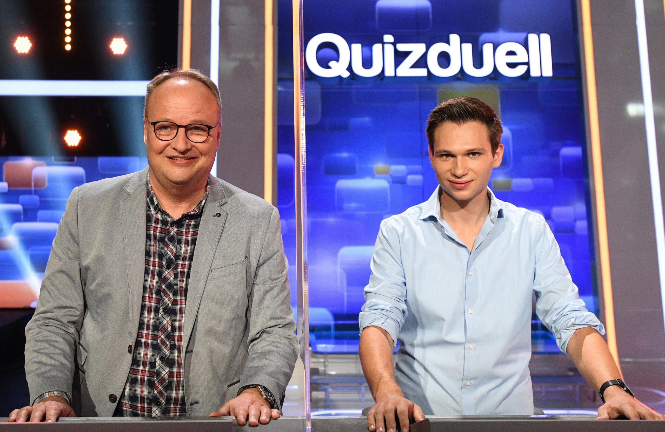 Oliver Welke und Fabian Köster Quizduell-Olymp, Folge 331