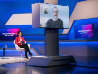 """Bill Gates exklusiv bei """"maischberger. die woche"""""""