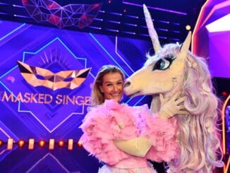 "Franziska van Almsick in ""The Masked Singer"""