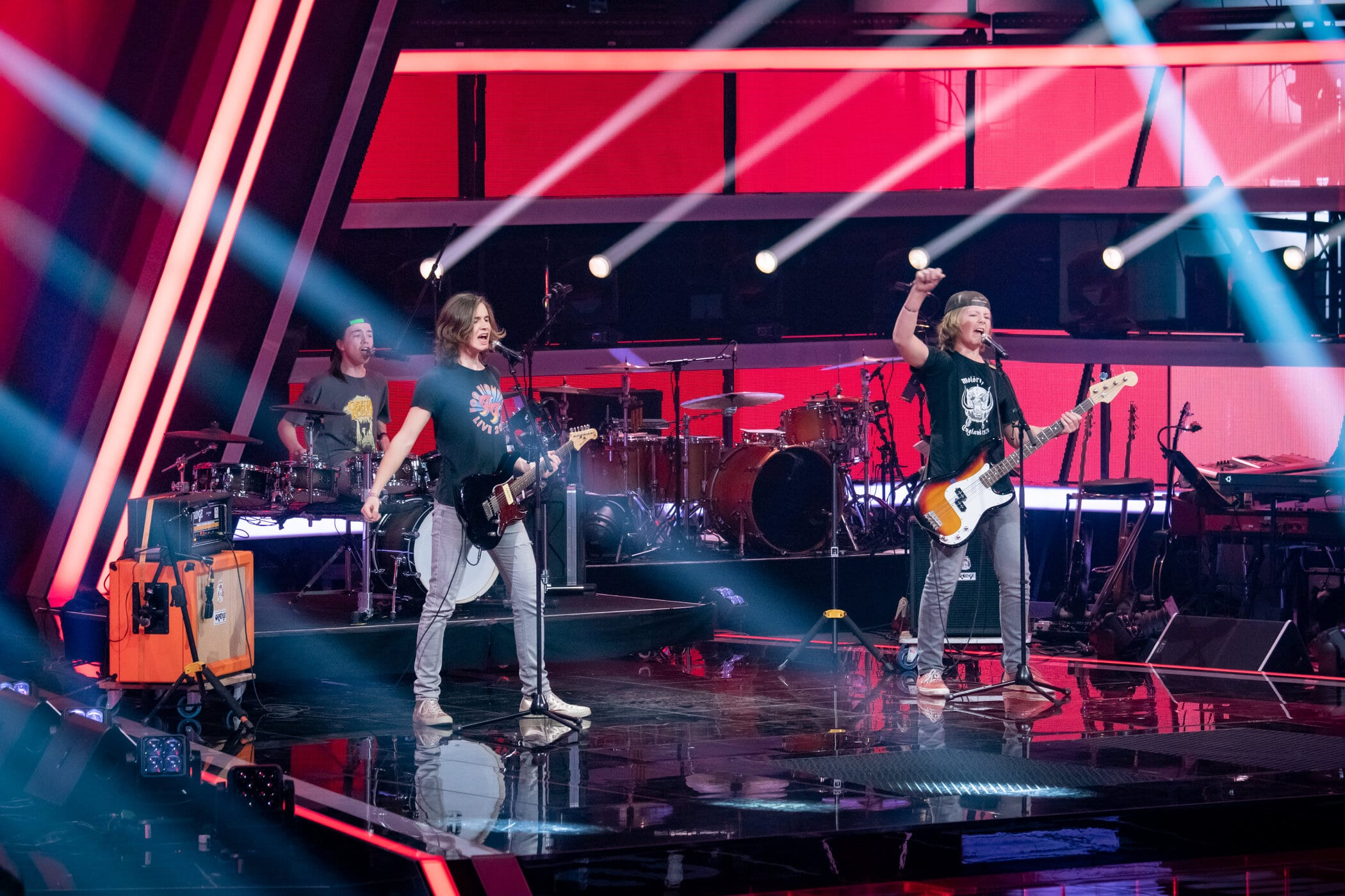 Start für #VoiceKids 2021 am 27.2. mit den Batteries of Rock