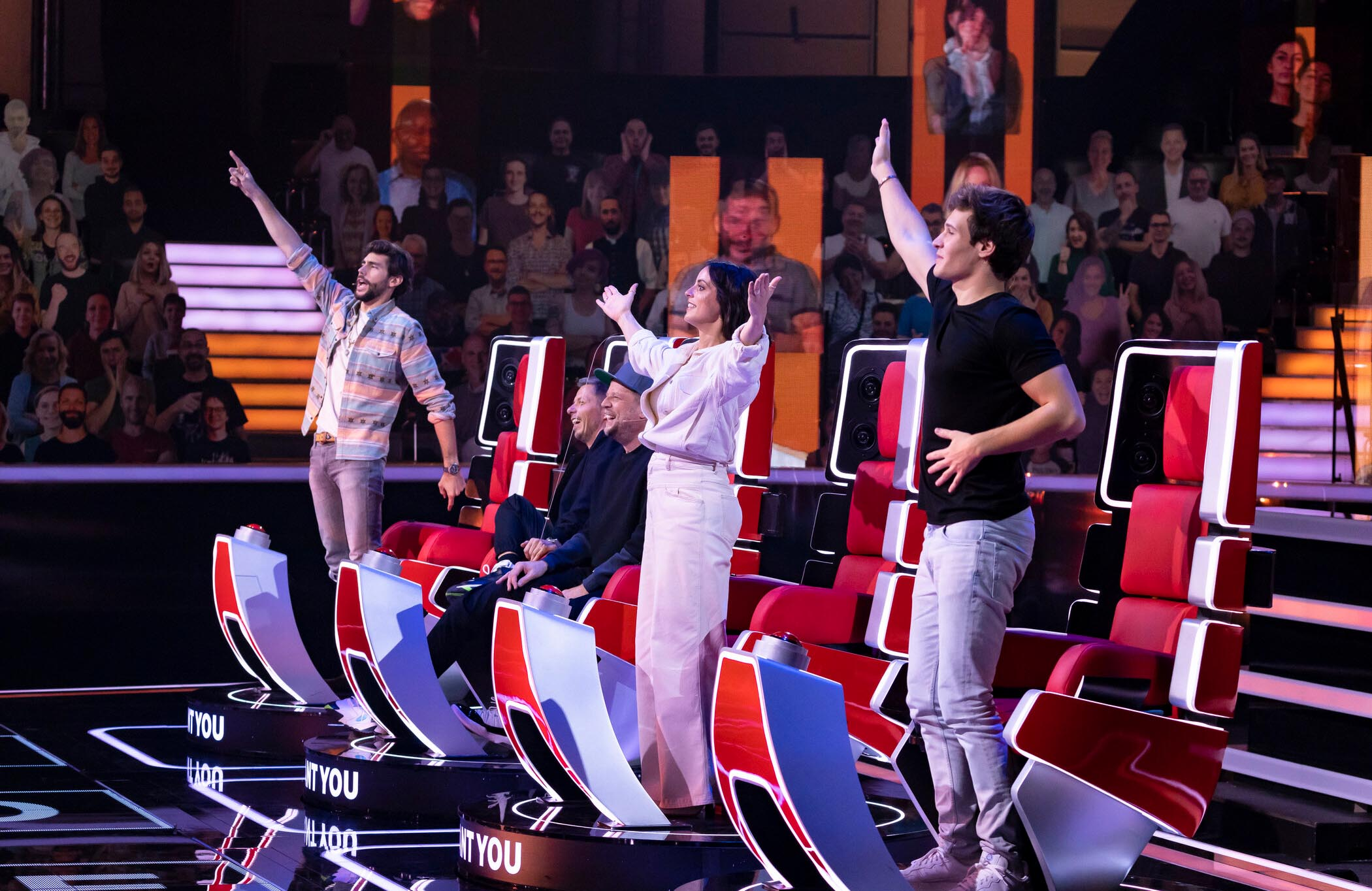 "Buzzern ab 27.02.2021 samstags: Die ""The Voice Kids""-Coaches"