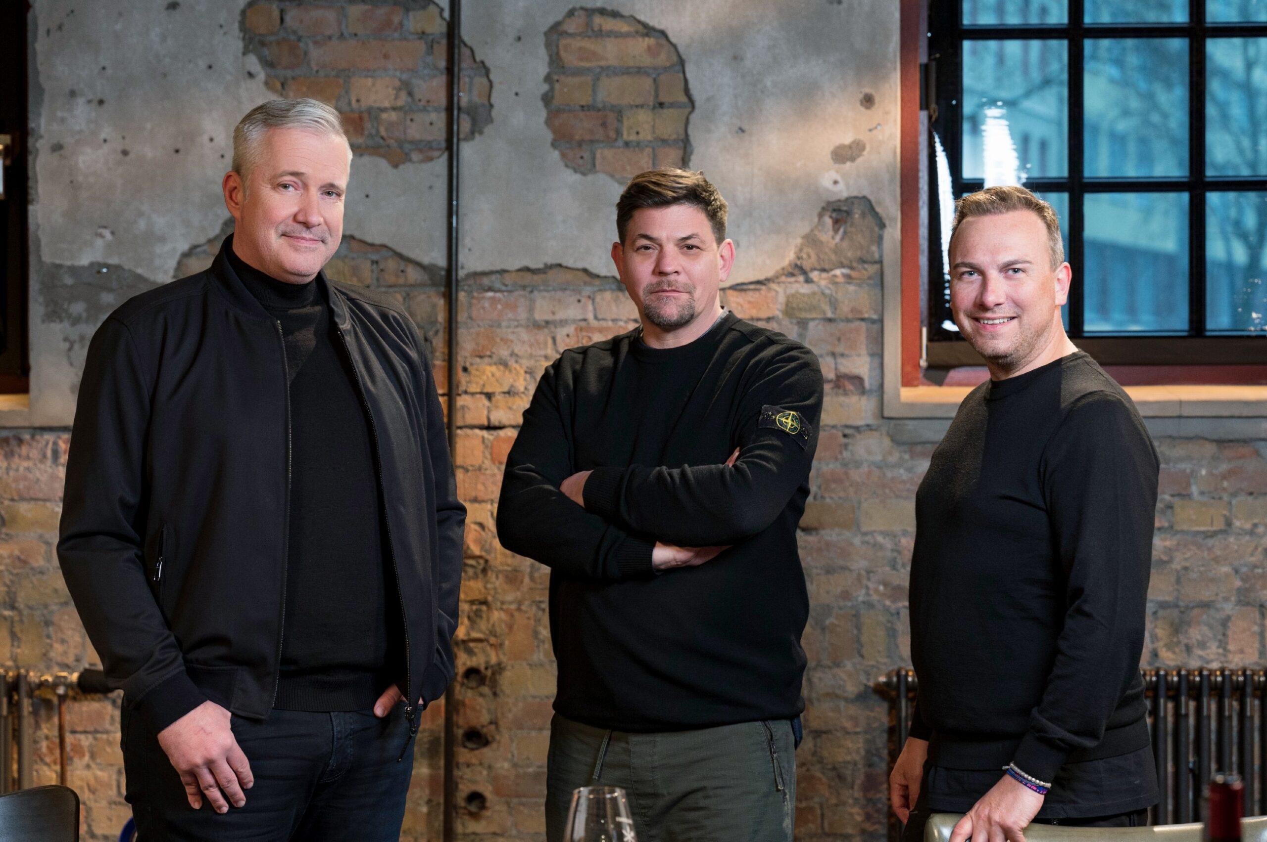 Alexander Herrmann, Tim Mälzer und Tim Raue Kitchen Impossible