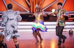 Let´s Dance - Auma Obama und Andrzej Cibis tanzen mit Jurymitglied Jorge González