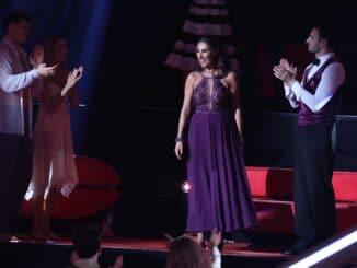 Senna Gammour (M.) und Robert Beitsch Let´s Dance