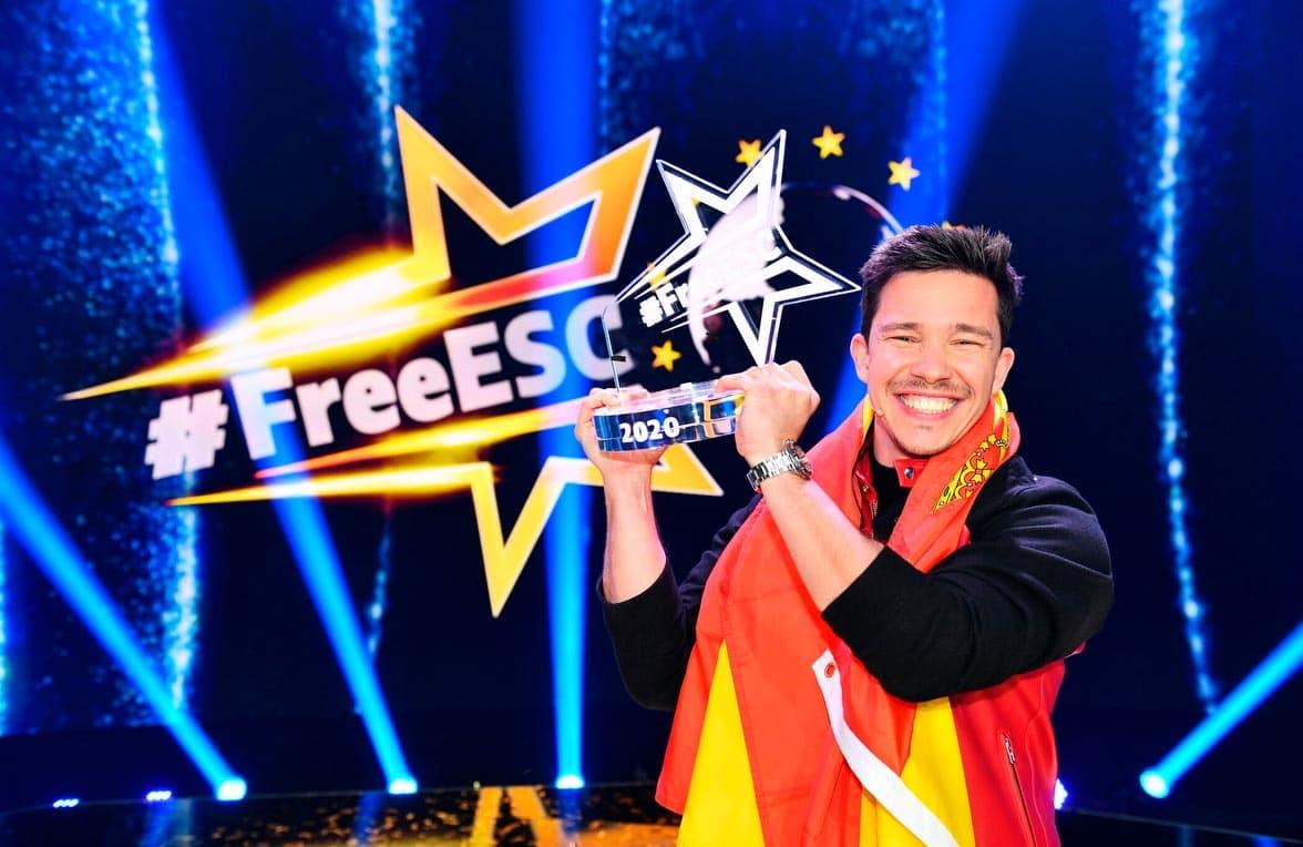 Nico Santos siegte beim ersten #FreeESC 2020.