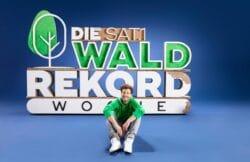 """Luke Mockridge ist Teil der """"SAT.1 Waldrekord-Woche""""."""