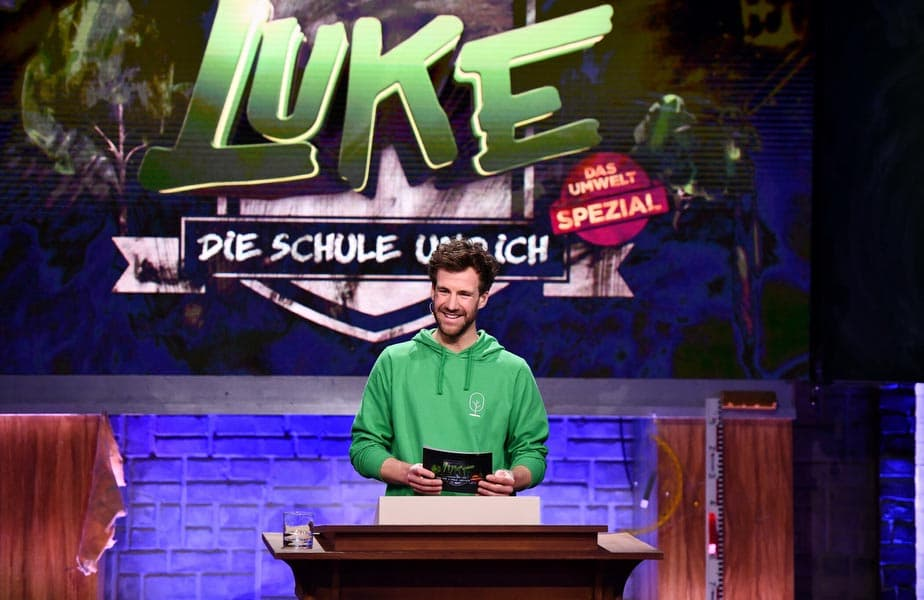 "Luke Mockridge in ""LUKE! Die Schule und ich"""