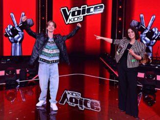 """Egon Werler gewinnt mit Coach Stefanie Kloß """"The Voice Kids"""" 2021"""