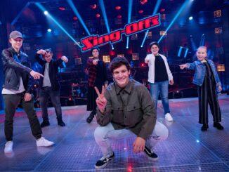 """Das Final-Team von Wincent Weiss bei """"The Voice Kids"""" 2021"""