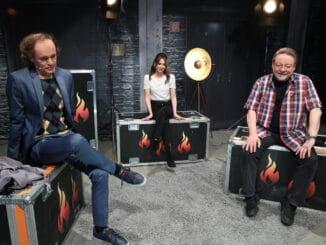 """""""Grill den Henssler"""" - Staffel 14, AZ 7 - Olaf Schubert, Mandy Capristo, Jürgen von der Lippe"""