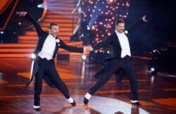 Let´s Dance Nicolas Puschmann (r.) und Vadim Garbuzov