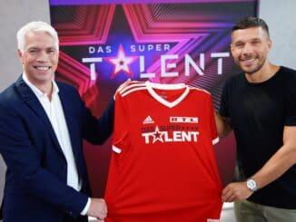"""Lukas Podolski Neuer Juror """"Das Supertalent"""""""